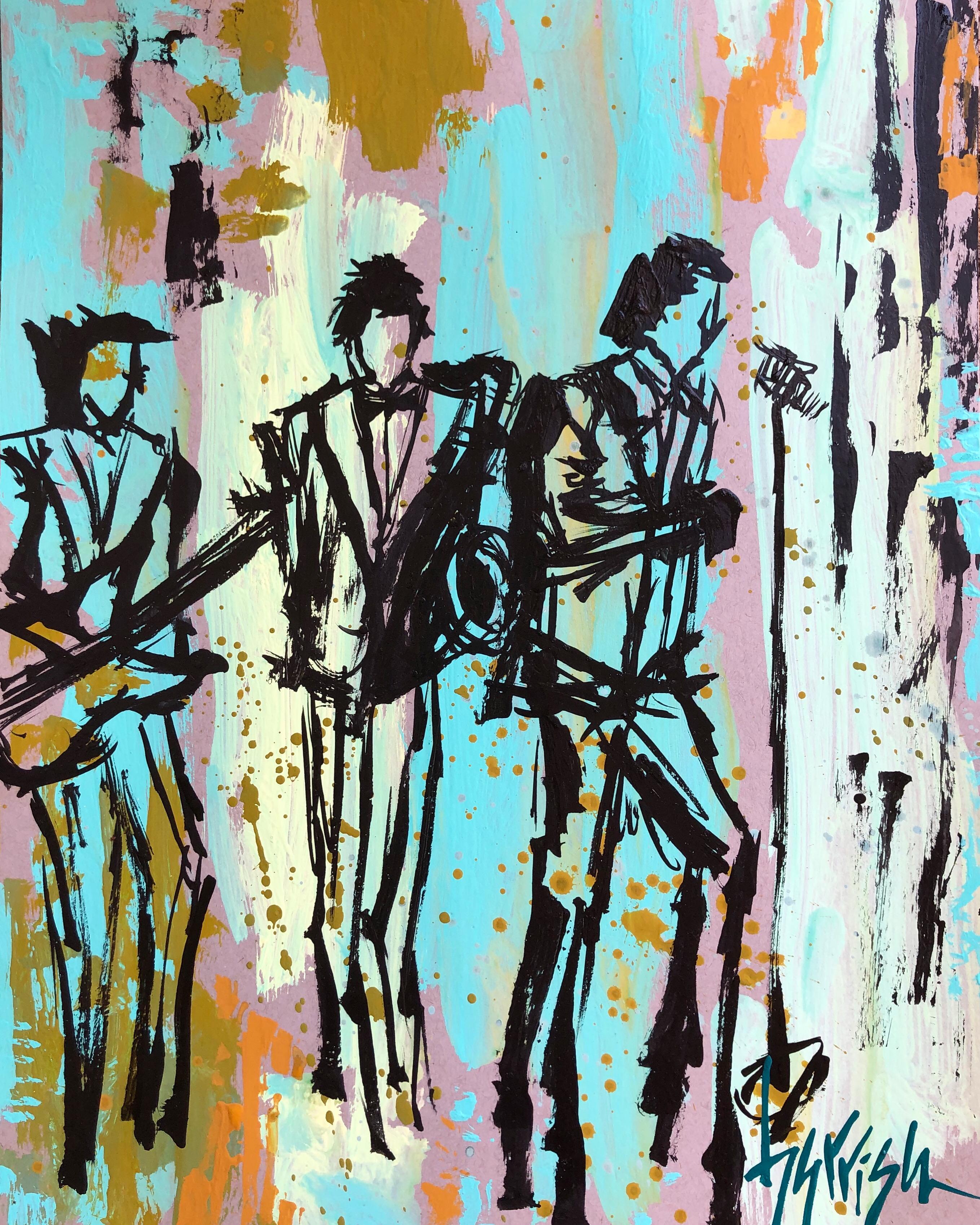 THAT FUNKY MUSIC PRINT - 11x14