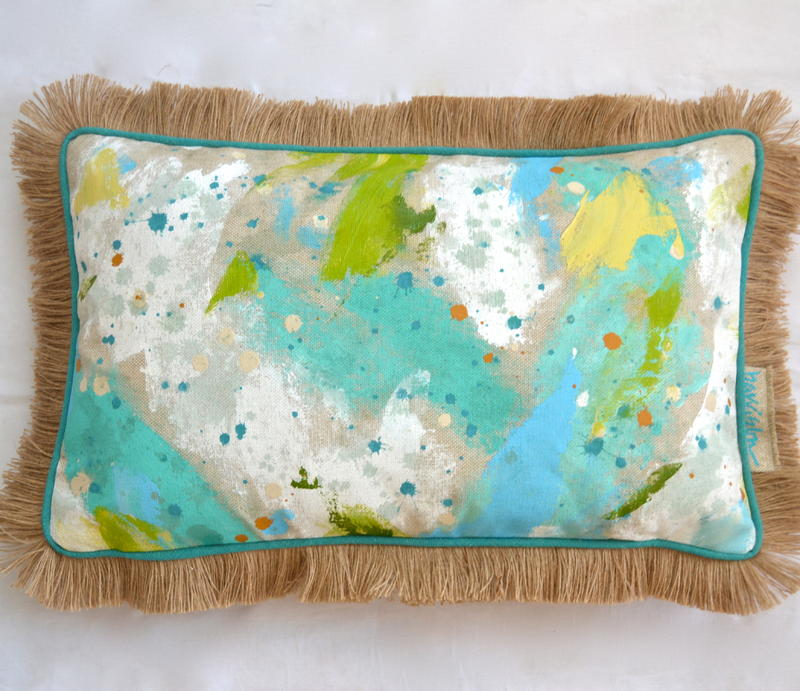 OUT OF THE BLUE PILLOW