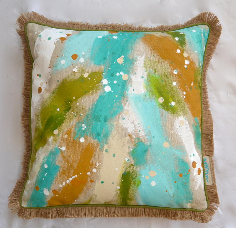 HEAD IN THE CLOUDS PILLOW I