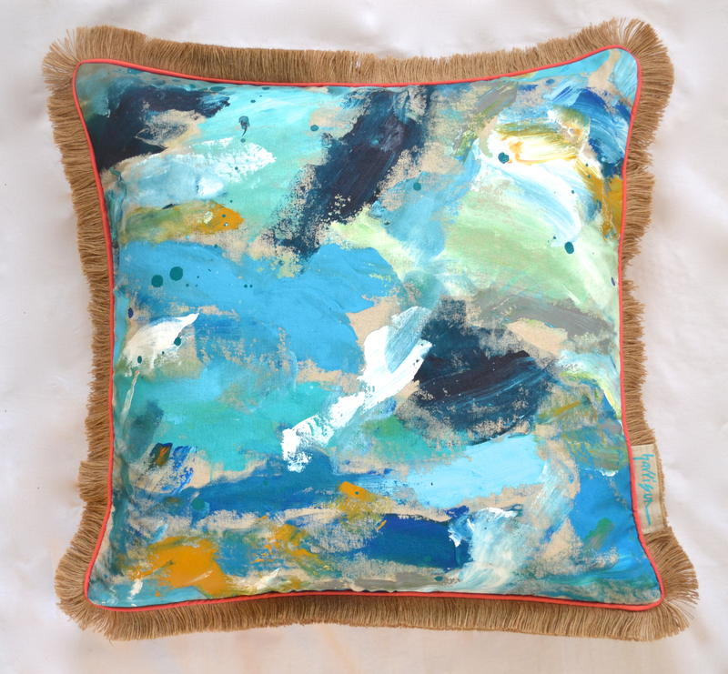 IN A BLUE MOON PILLOW II