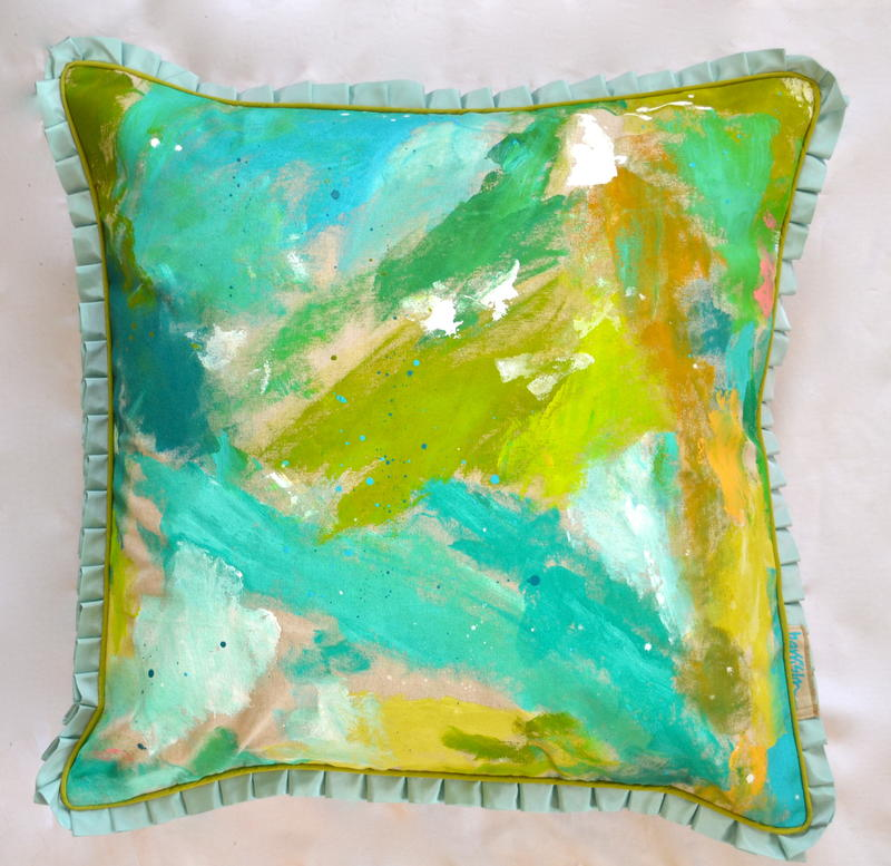 SKIRT THE RULES PILLOW II