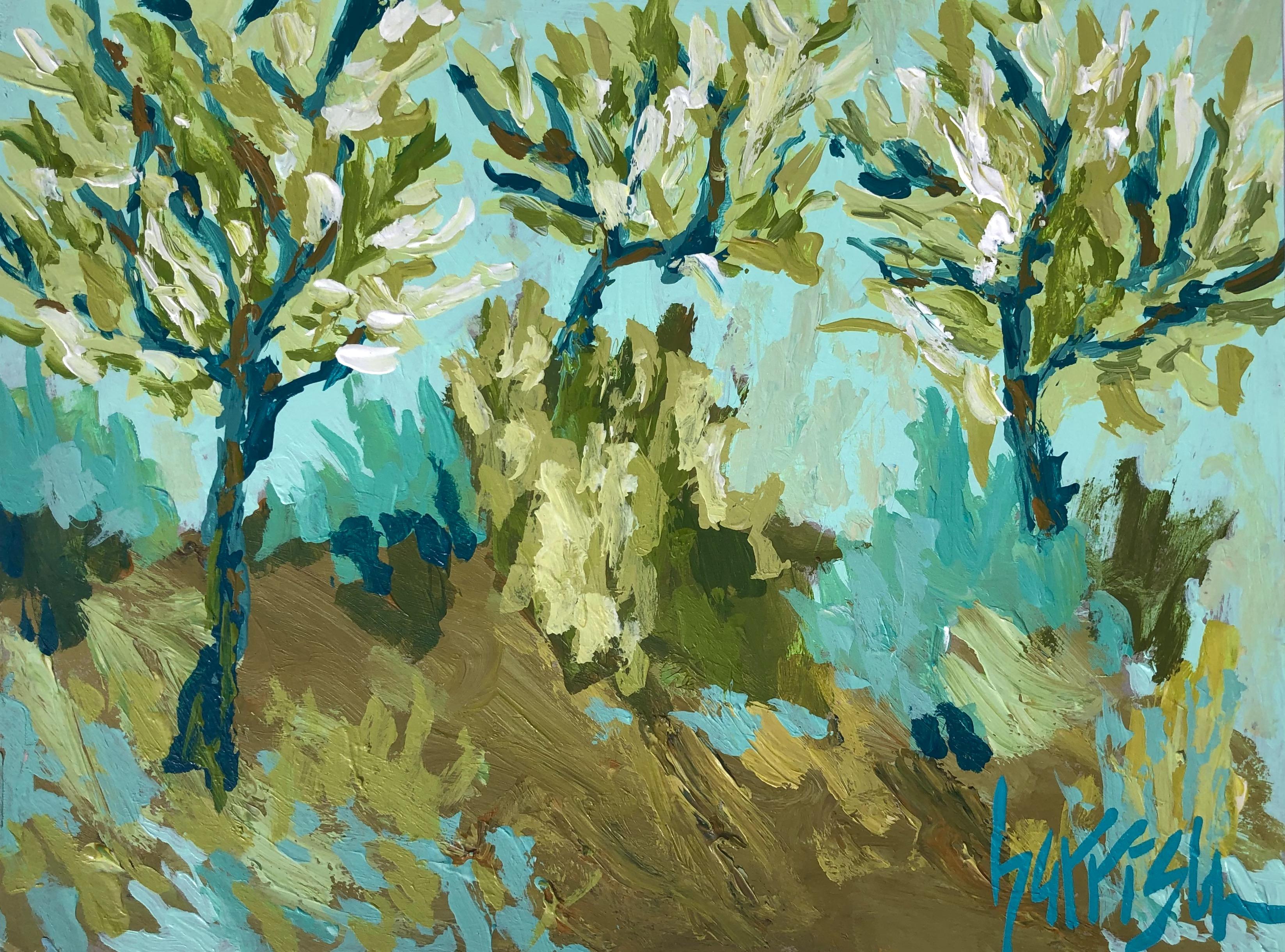 Aix En Provence Trees 1 - 9x12