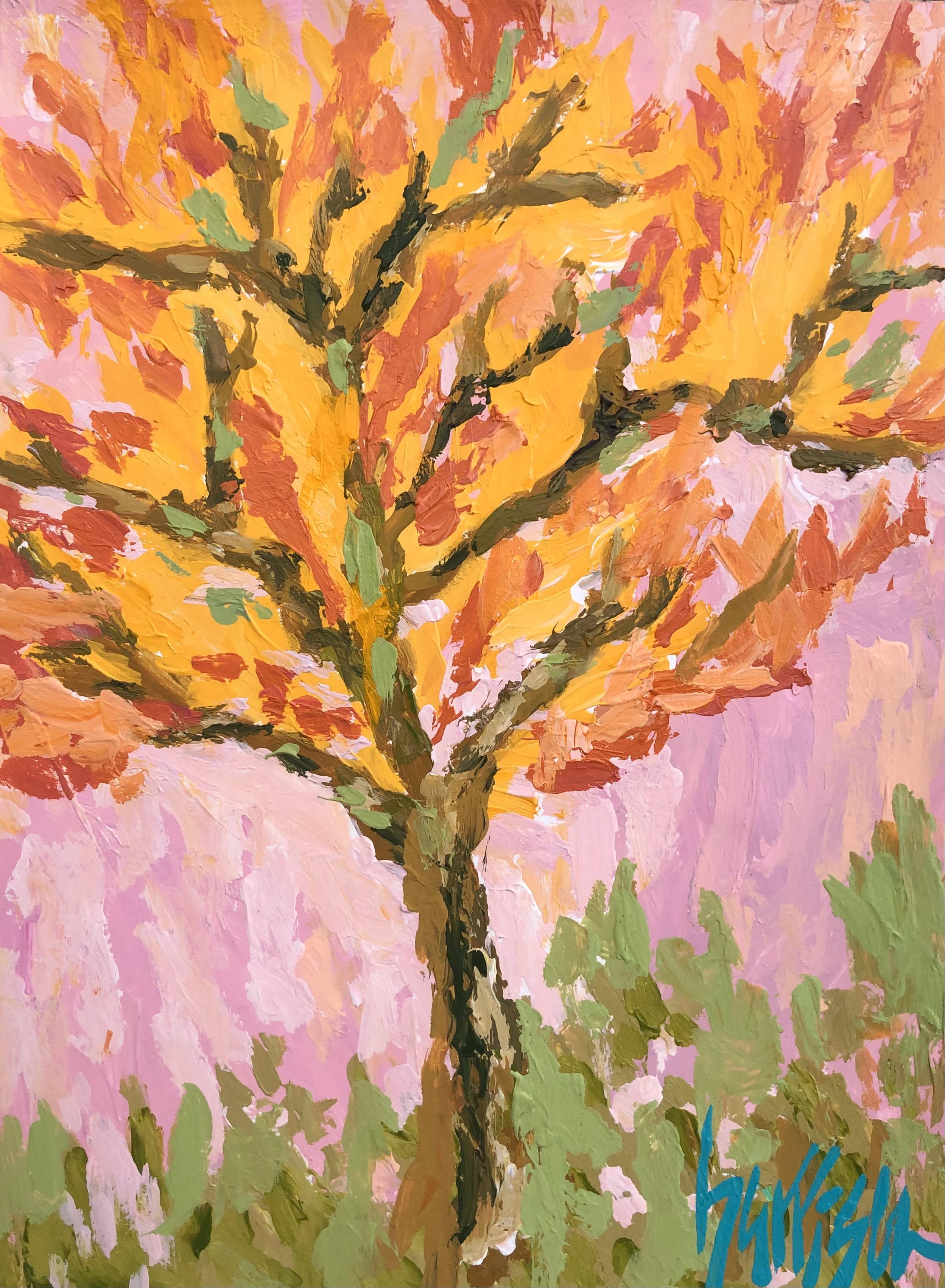 Aix En Provence Trees 2 - 9x12