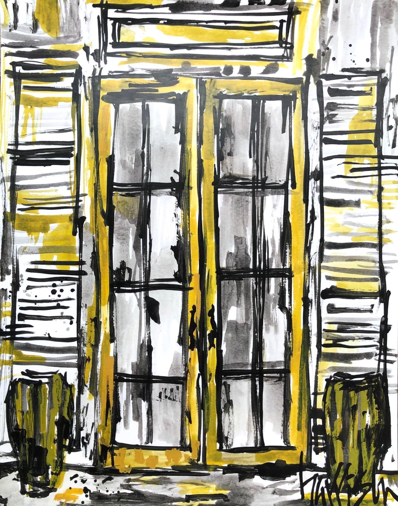 UPTOWN DOOR PRINT 1