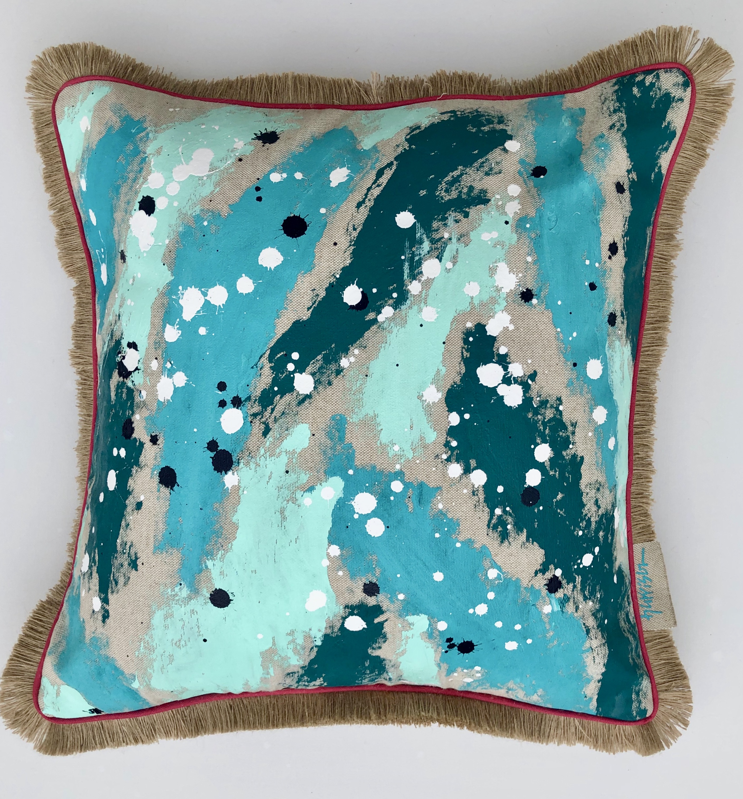 OUT OF THE BLUE PILLOW II
