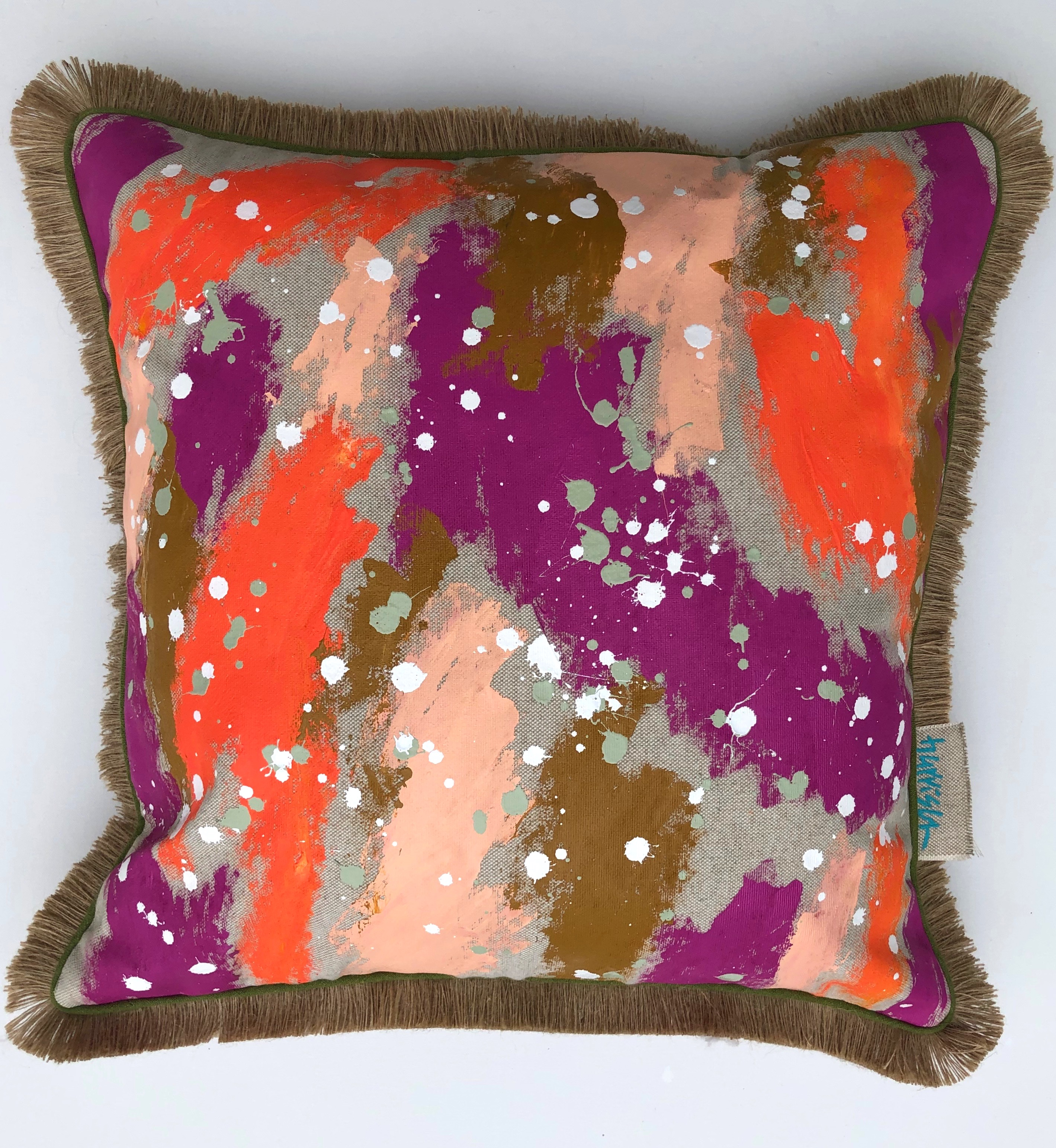 HUSTLE AND BUSTLE PILLOW II