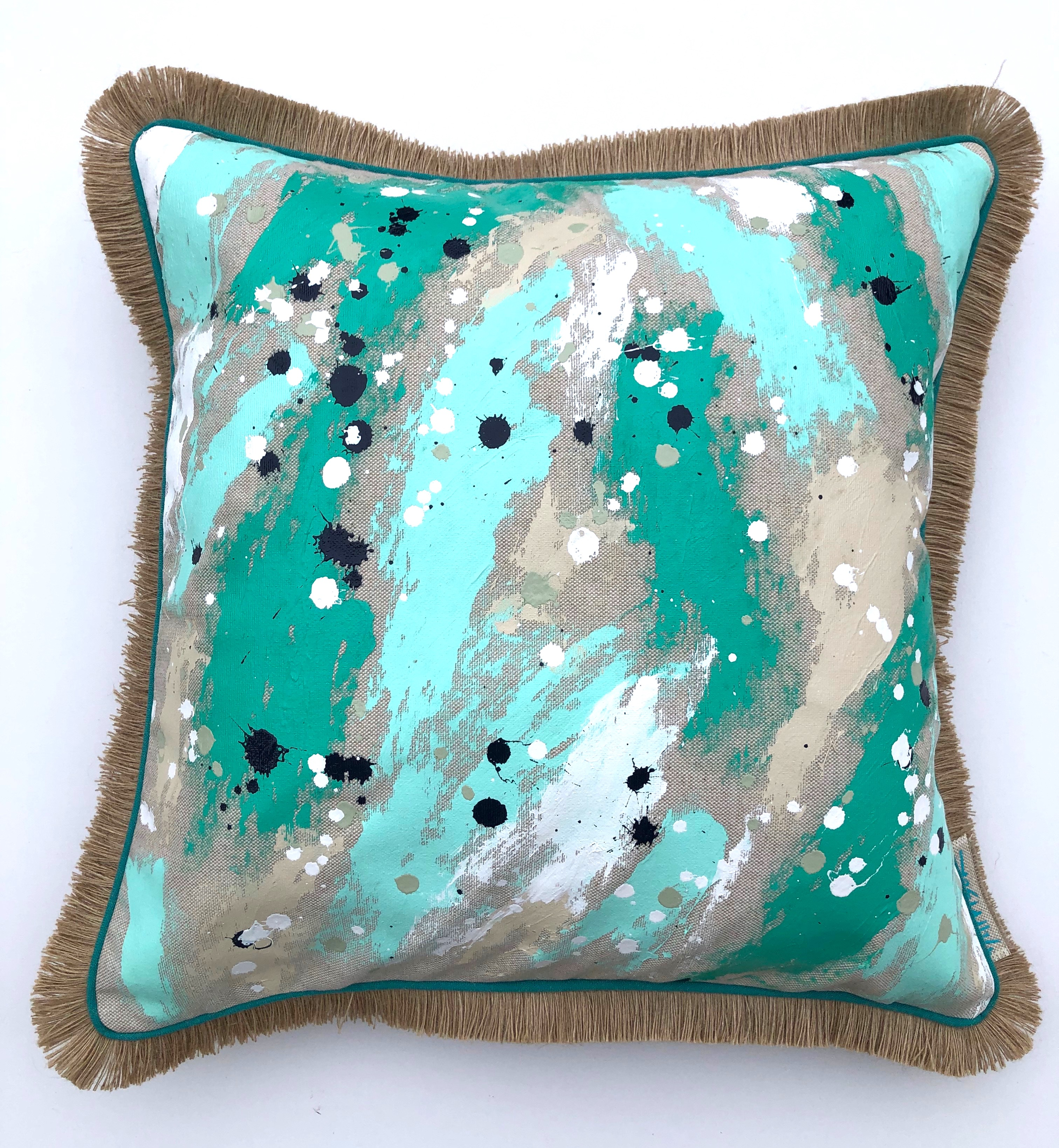 RISE AND SHINE PILLOW I