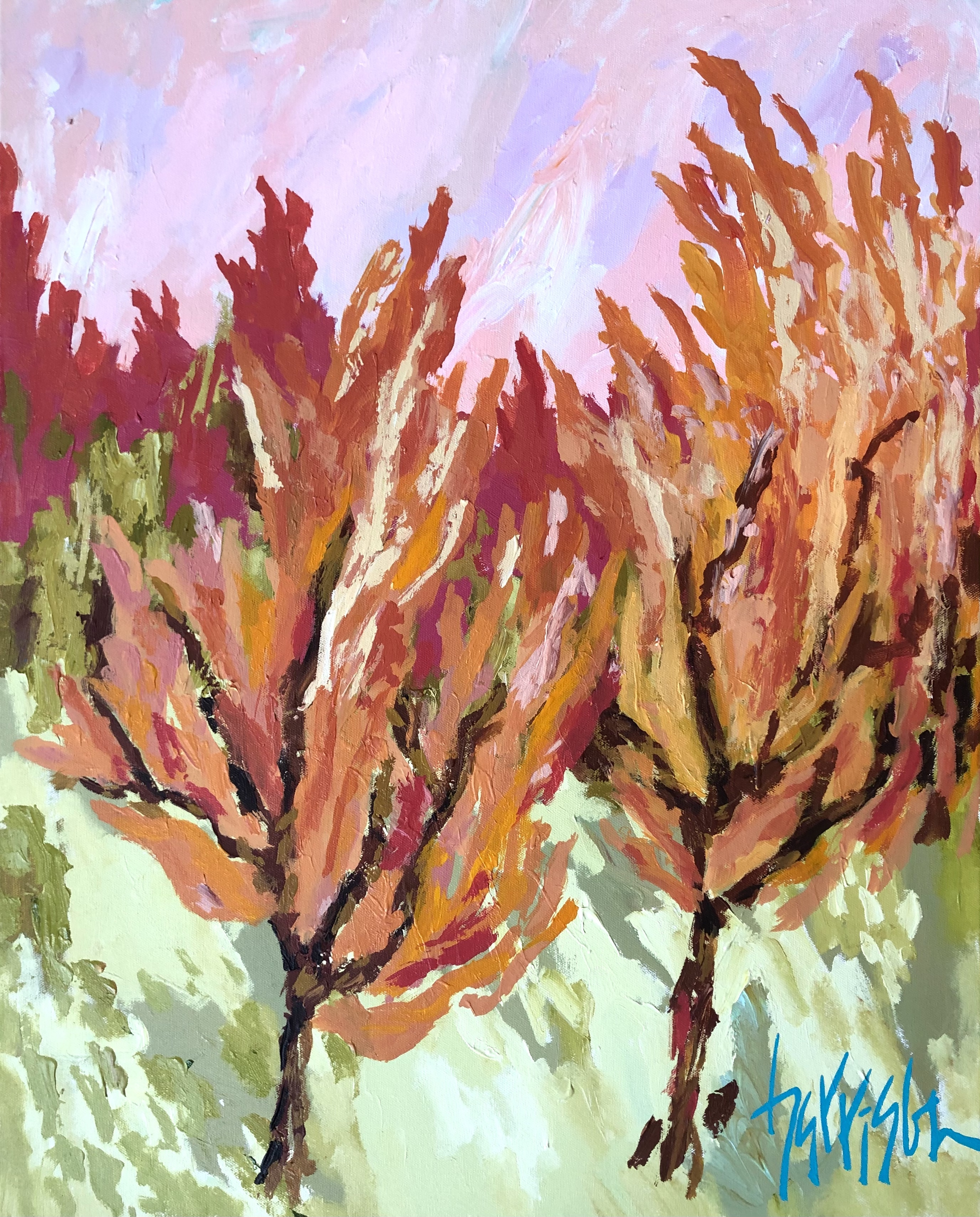 """Winds of Provence 3 - 24""""w x 30""""h"""