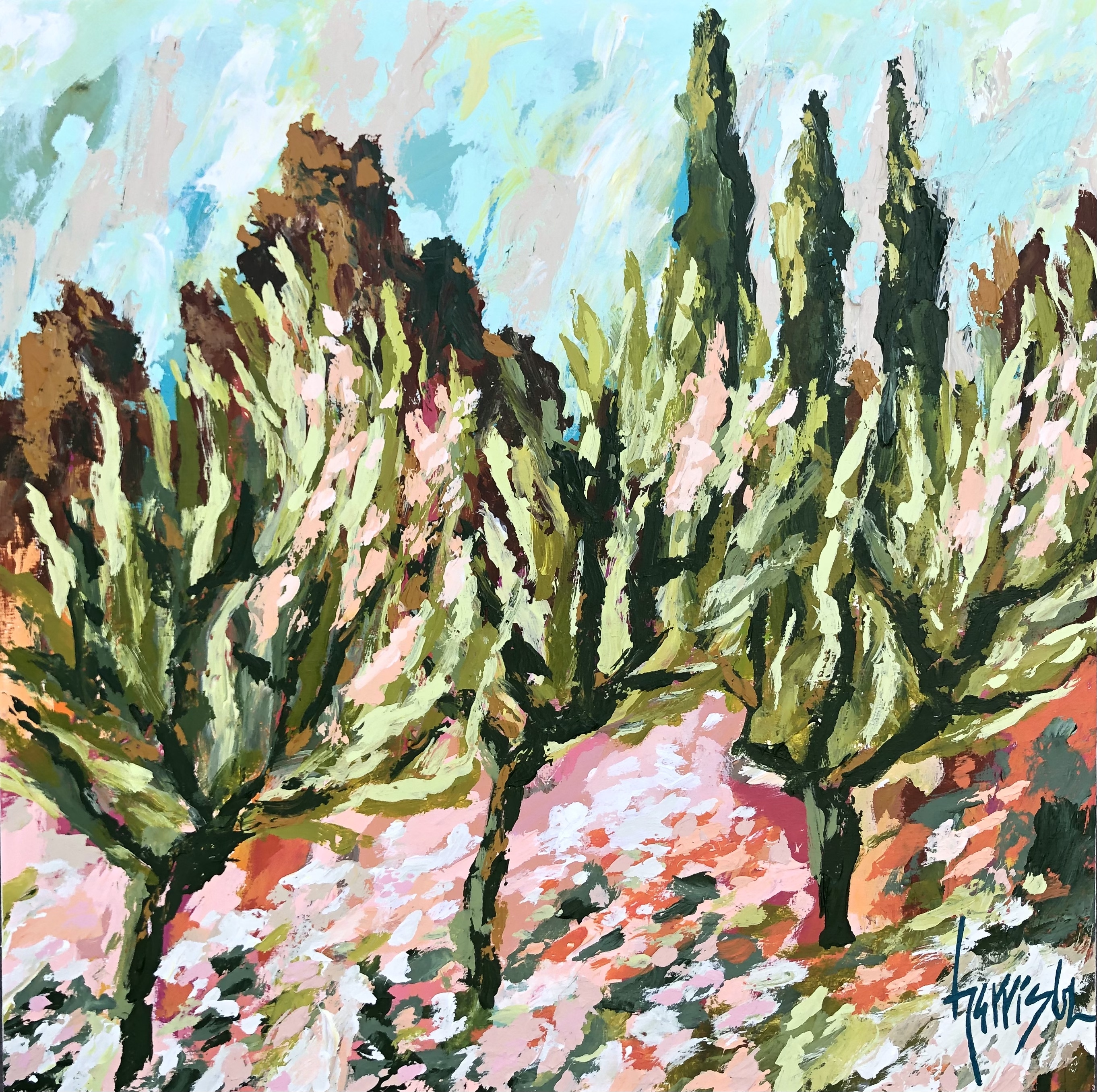 """Winds of Provence 1 - 20""""w x 20""""w"""