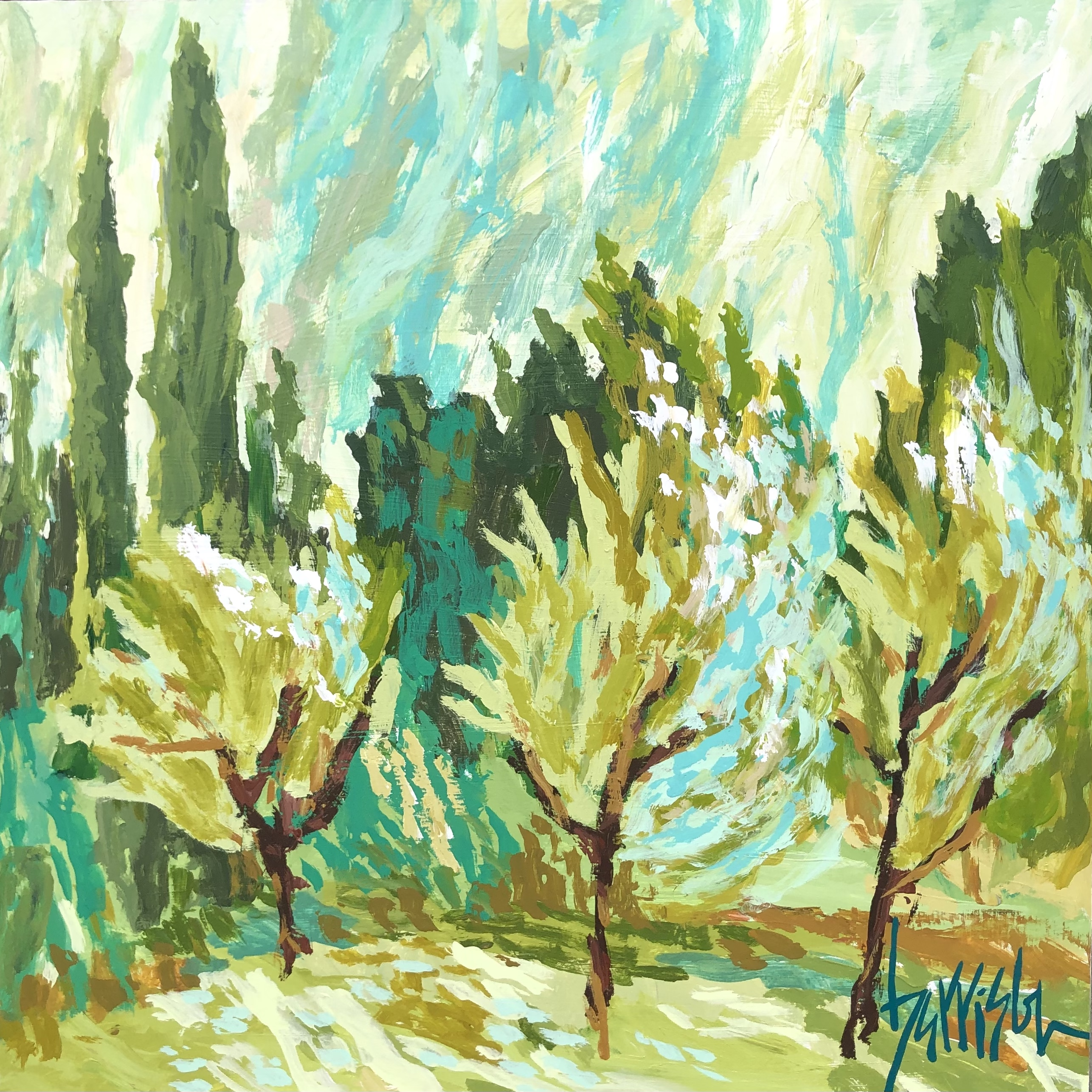 "Winds of Provence 2 - 24""w x 24""h"