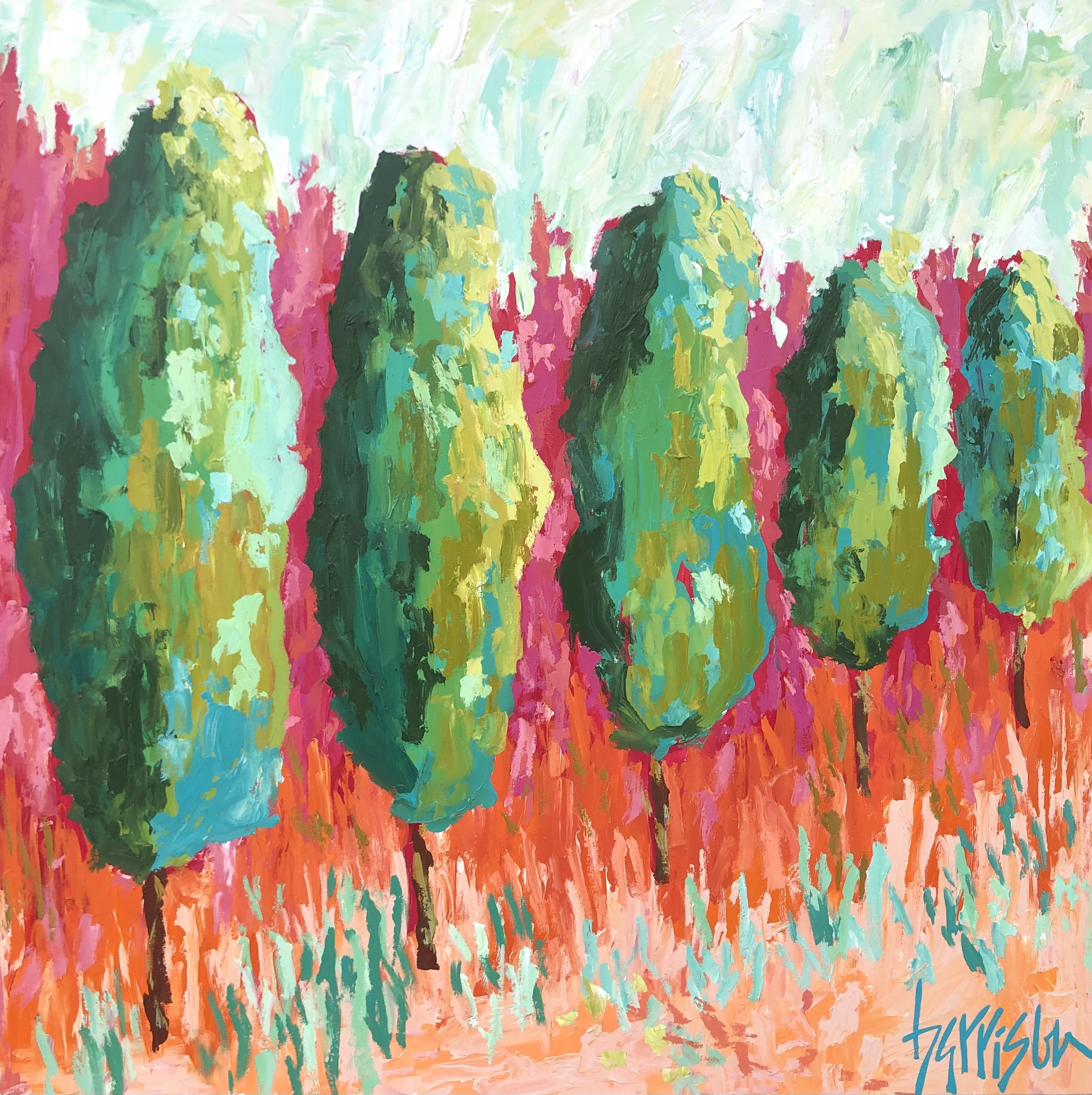 "Winds of Provence 14 - 36""w x 36""h"