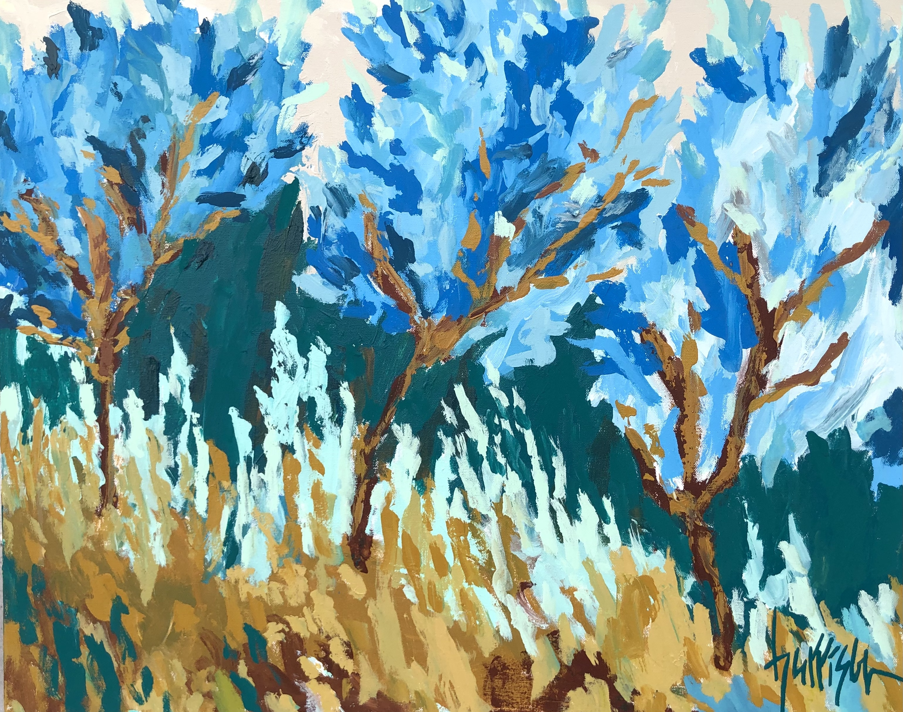 """Winds of Provence 4 - 30""""w x 24""""h"""