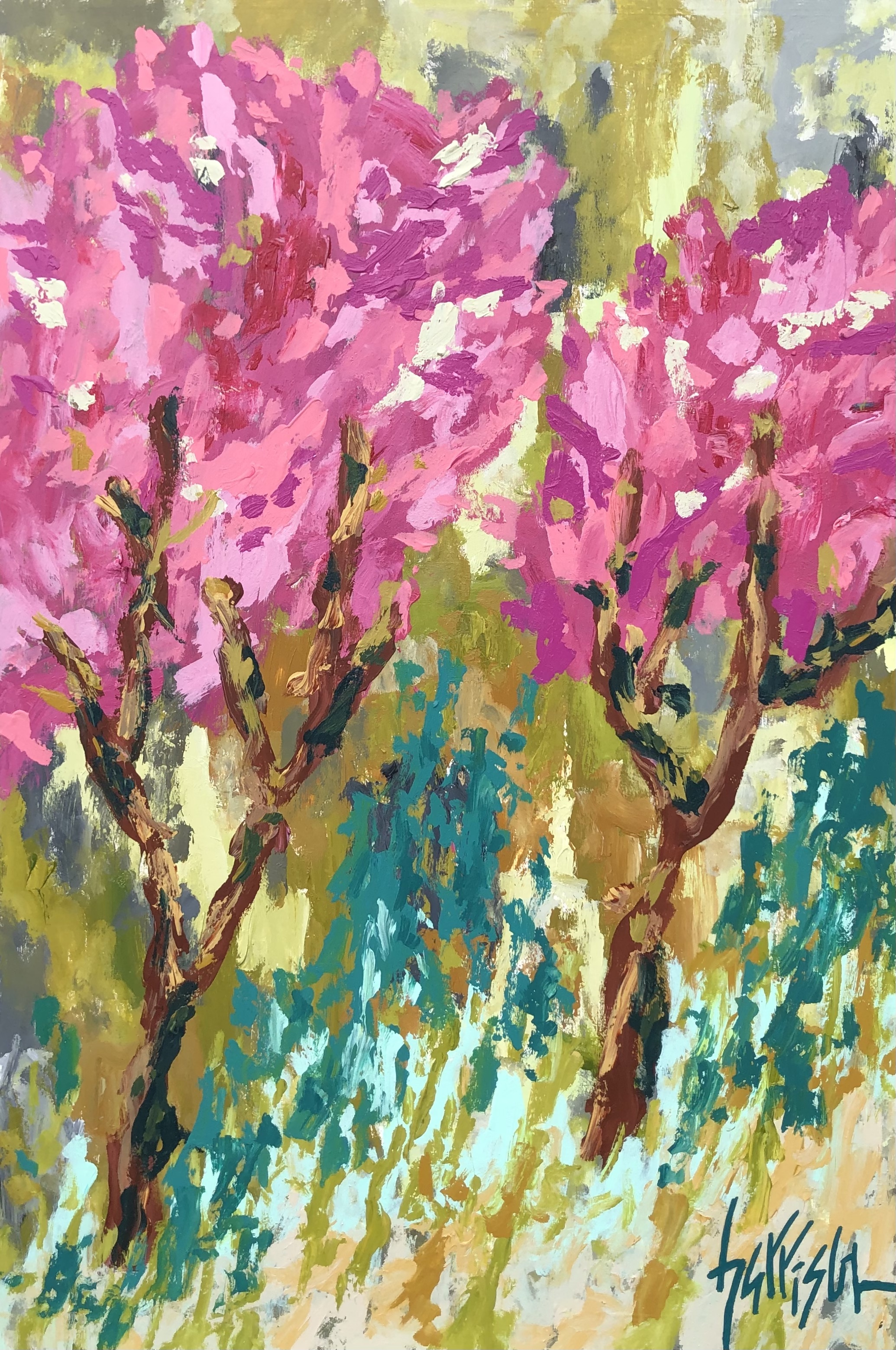 """Winds of Provence 7 - 24""""w x 36""""h"""