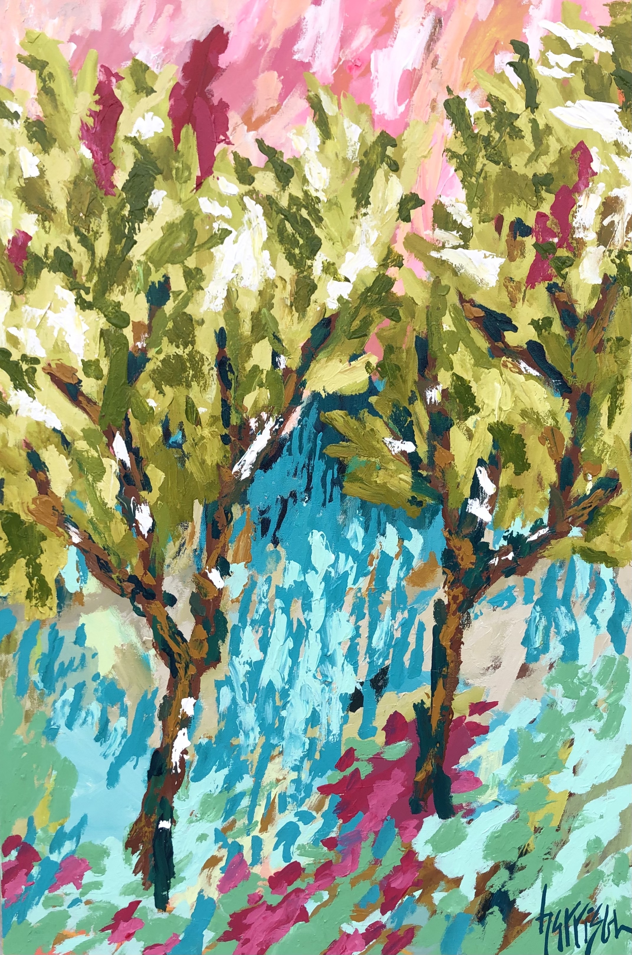 """Winds of Provence 8 - 24""""w x 36""""h"""