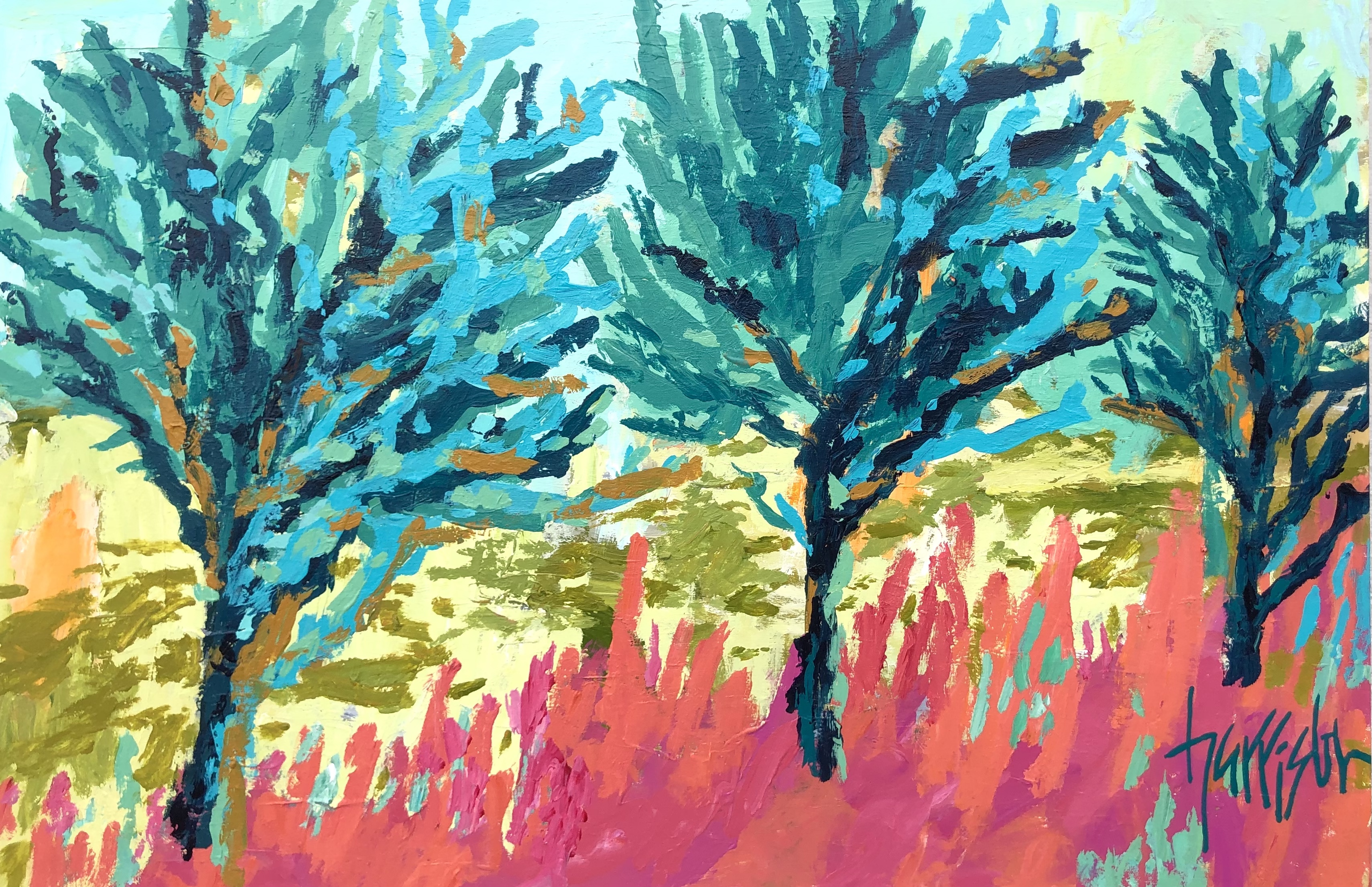 """Winds of Provence 6 - 36""""w x 24""""h"""