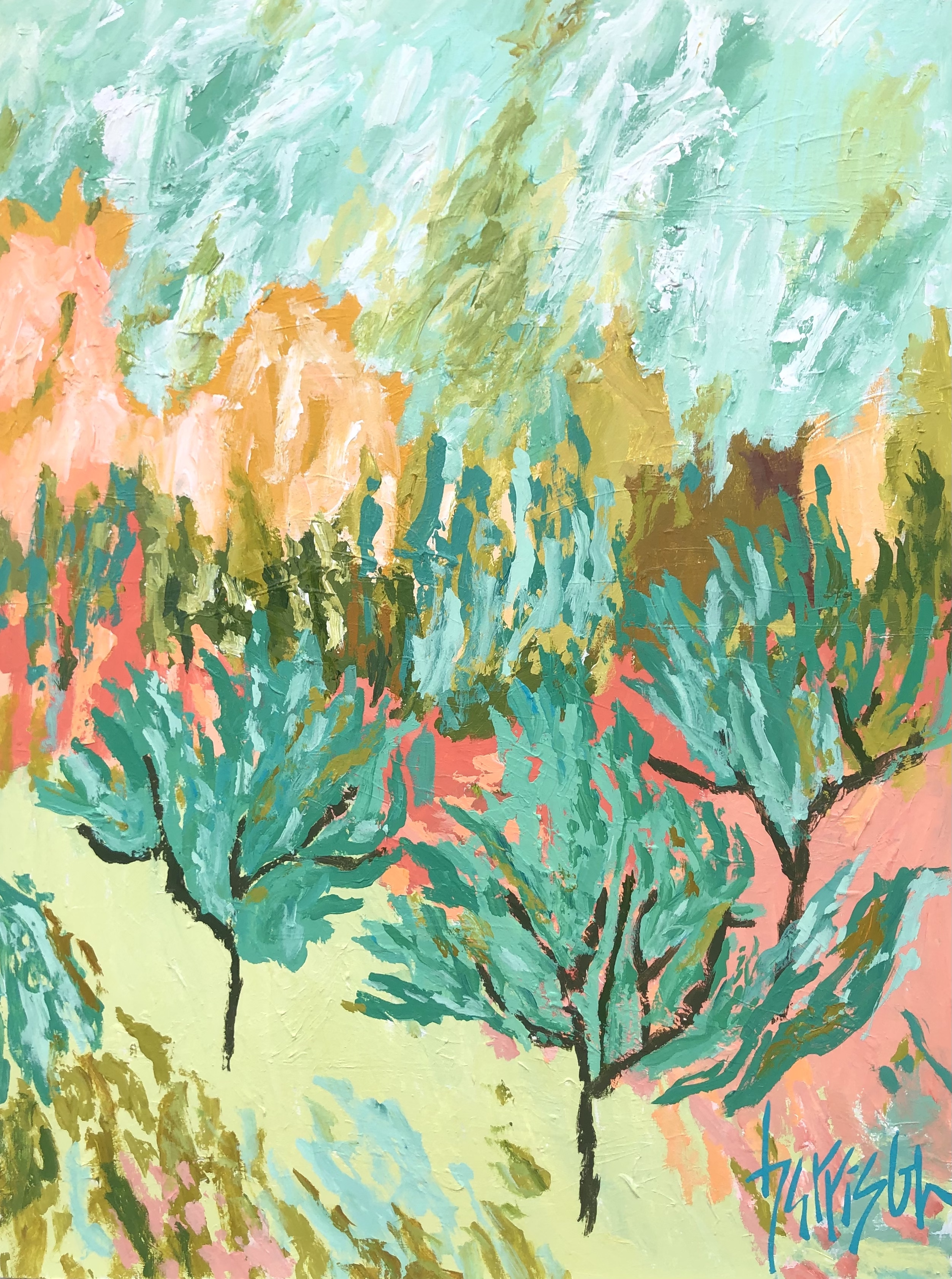 """Winds of Provence 11 - 30""""w x 40""""h"""