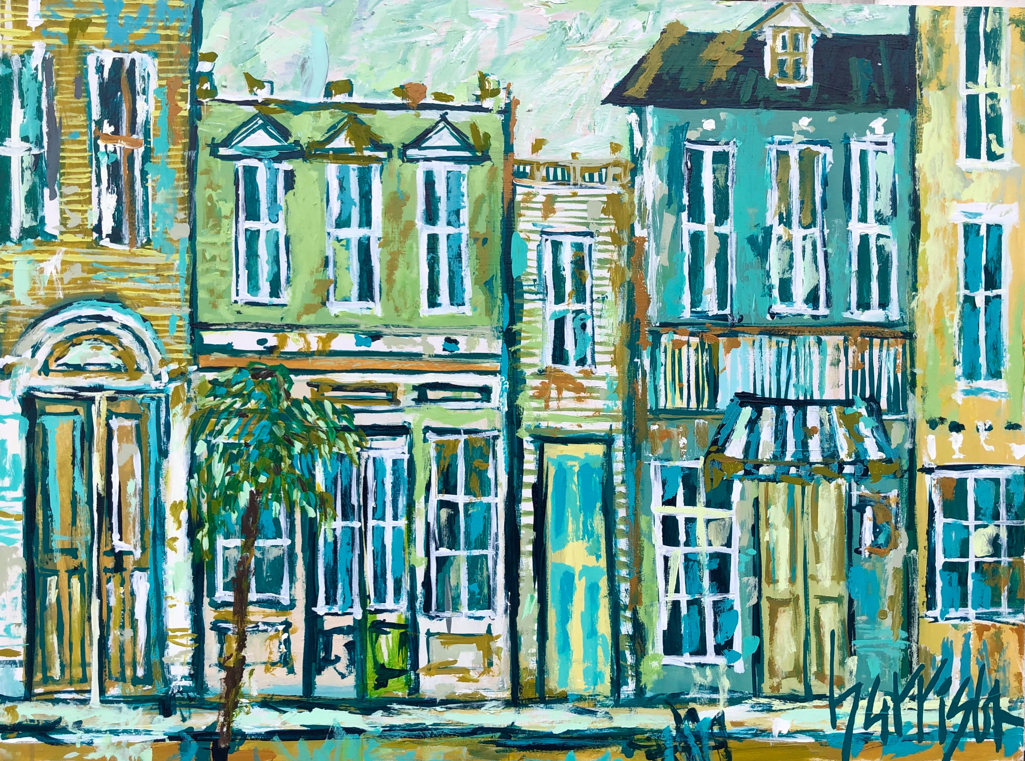 JUST OFF BROAD STREET 30x40