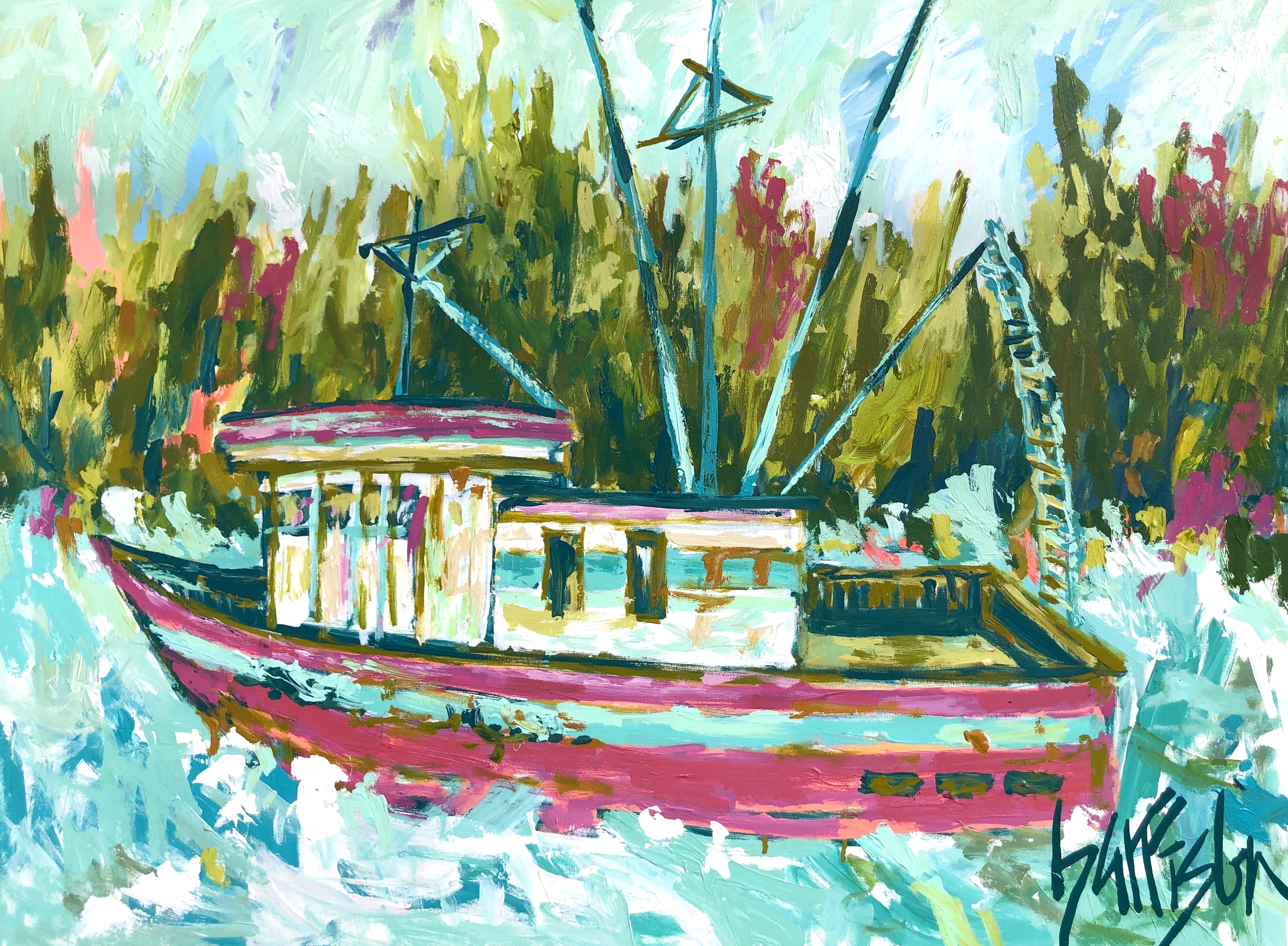 WHATEVER FLOATS YOUR BOAT 30x40