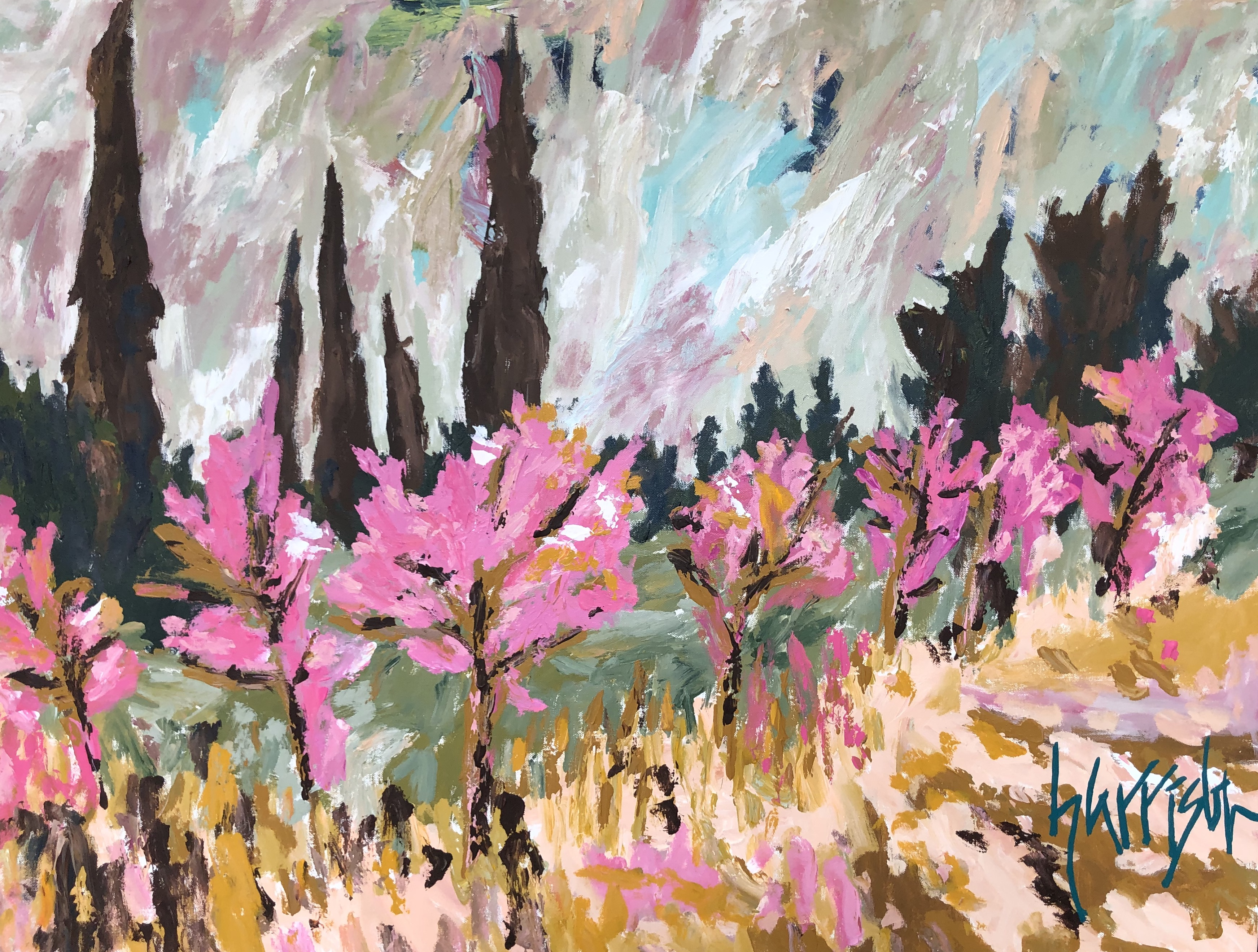 FIELDS OF PROVENCE 4 - 30x40