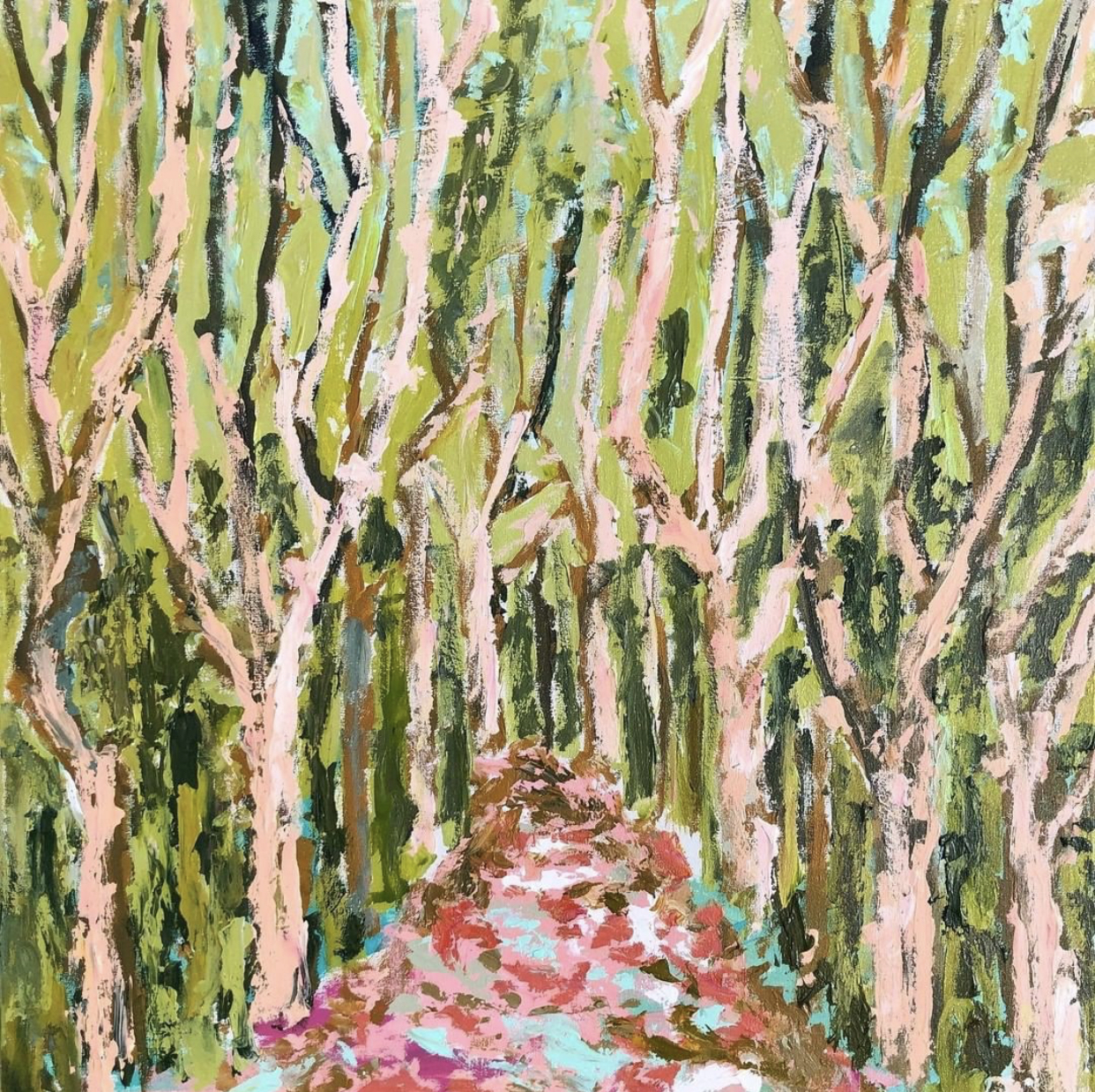 TREES OF PROVENCE 1 - 30x30