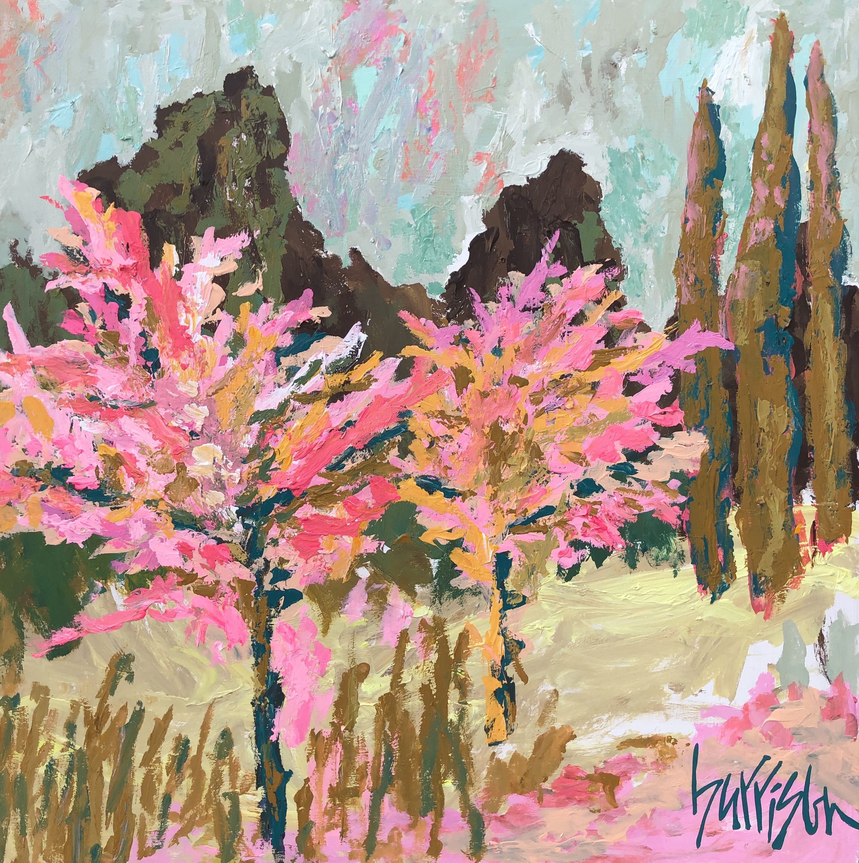 FIELDS OF PROVENCE 1 - 30x30