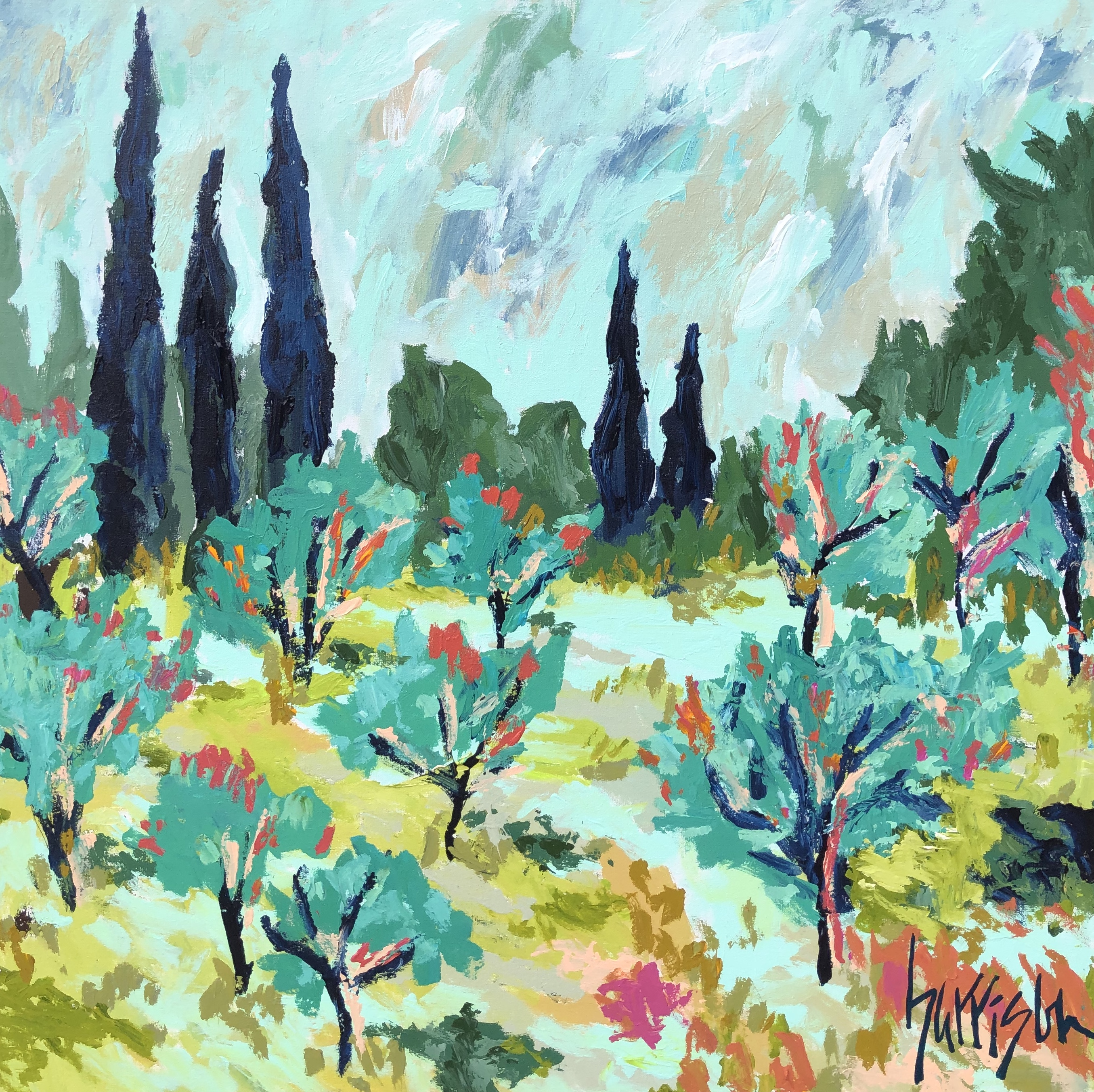 FIELDS OF PROVENCE 3 - 36x36