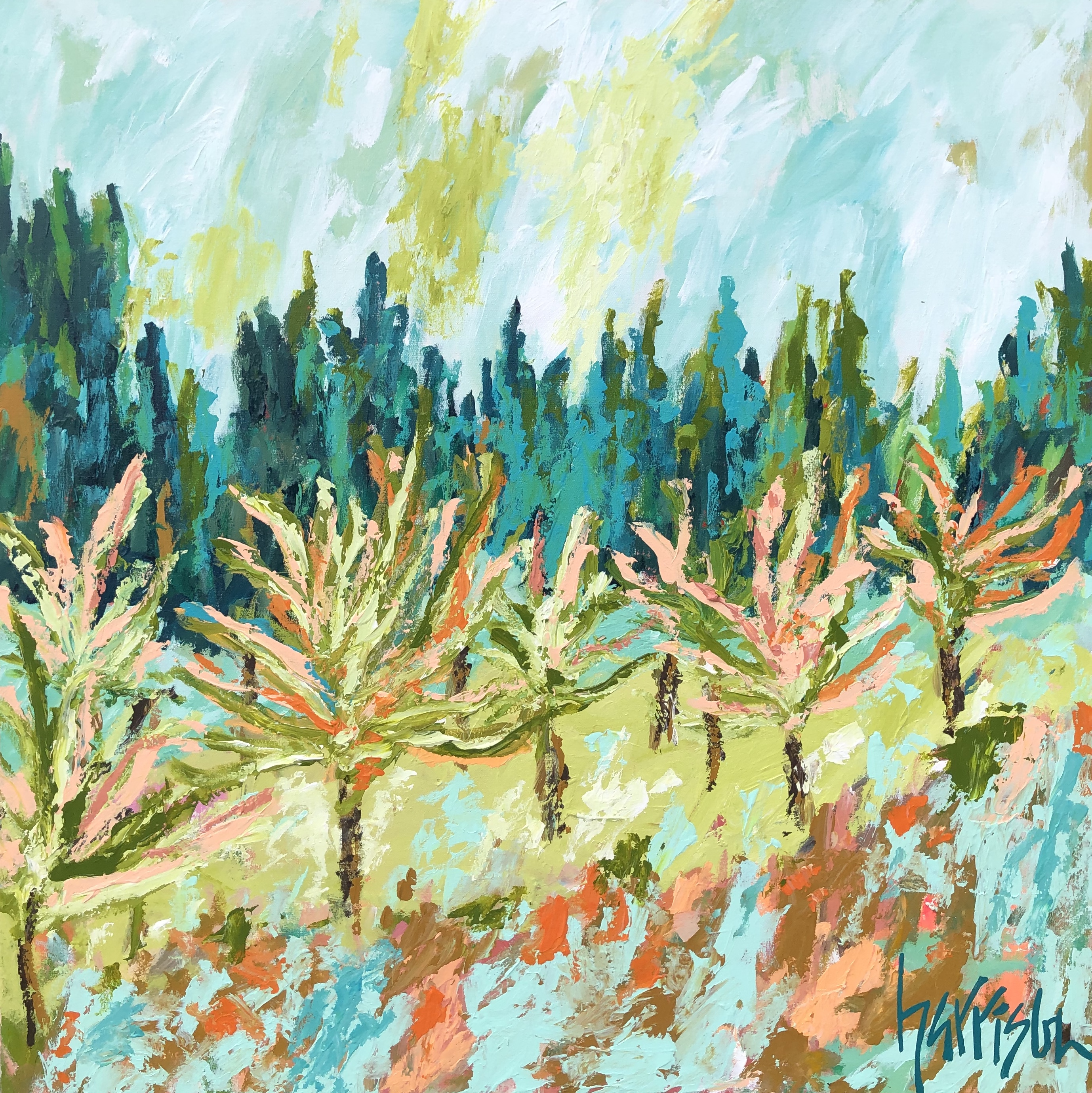 FIELDS OF PROVENCE 2 - 36x36
