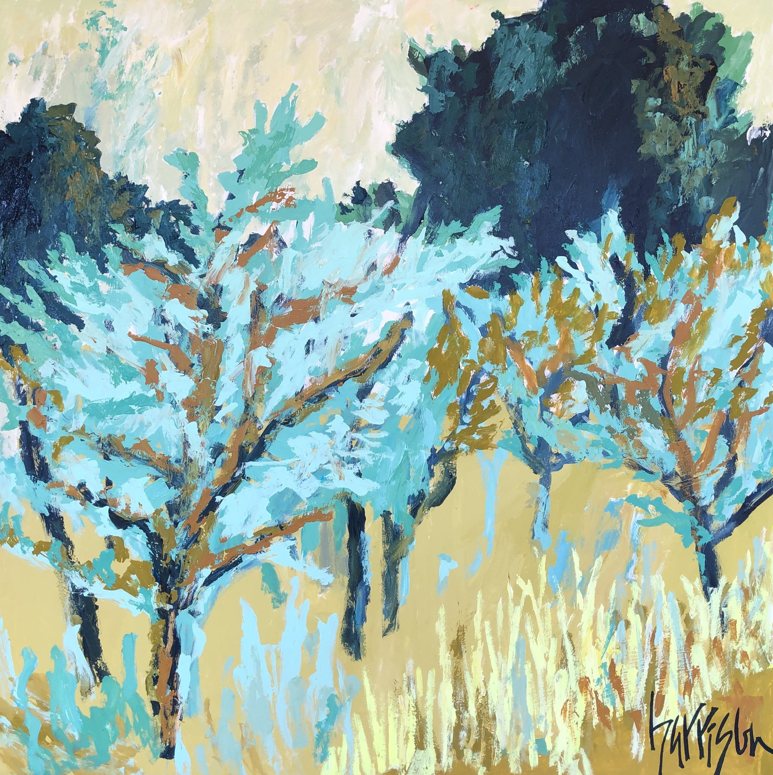 FIELDS OF PROVENCE 7 - 40x40