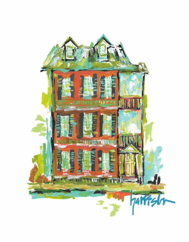 SUMMER HOUSE PRINT 3