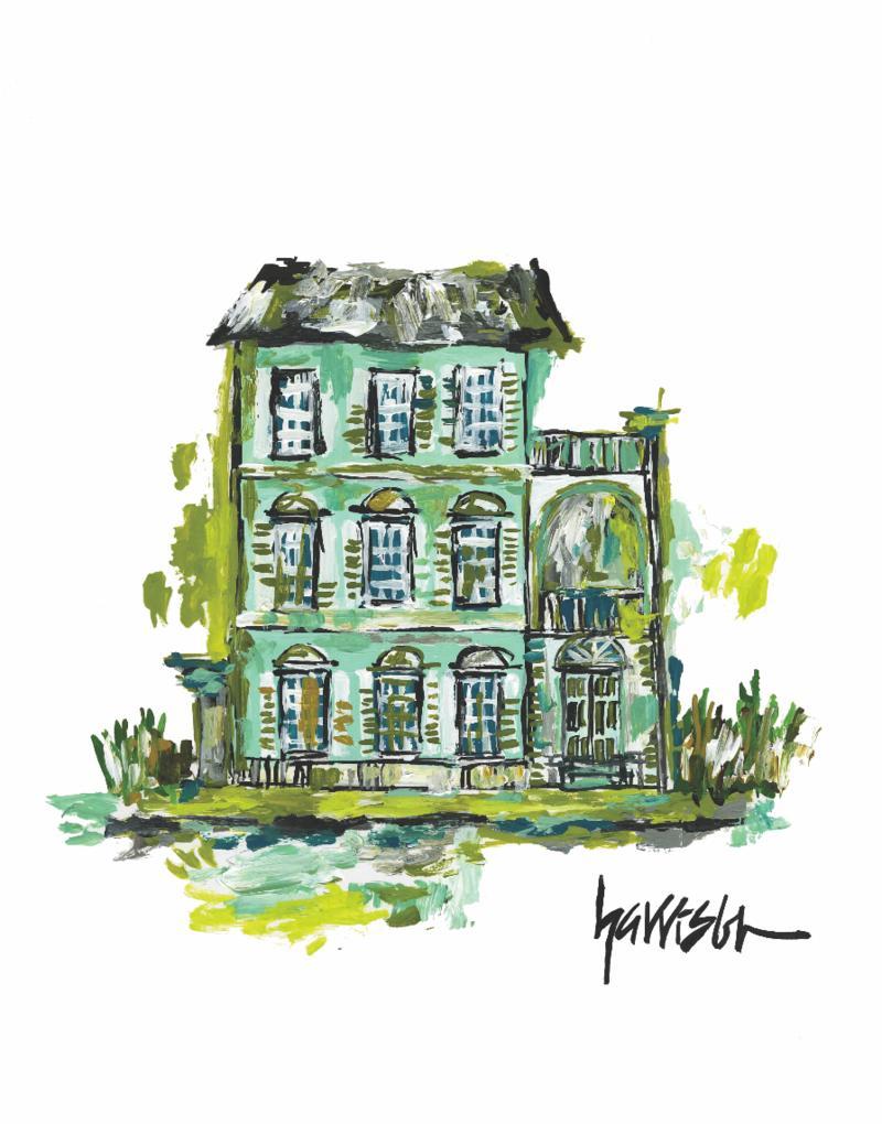 SUMMER HOUSE PRINT 5