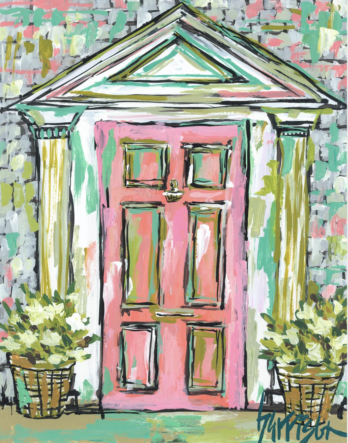 Nantucket Door 1 Print