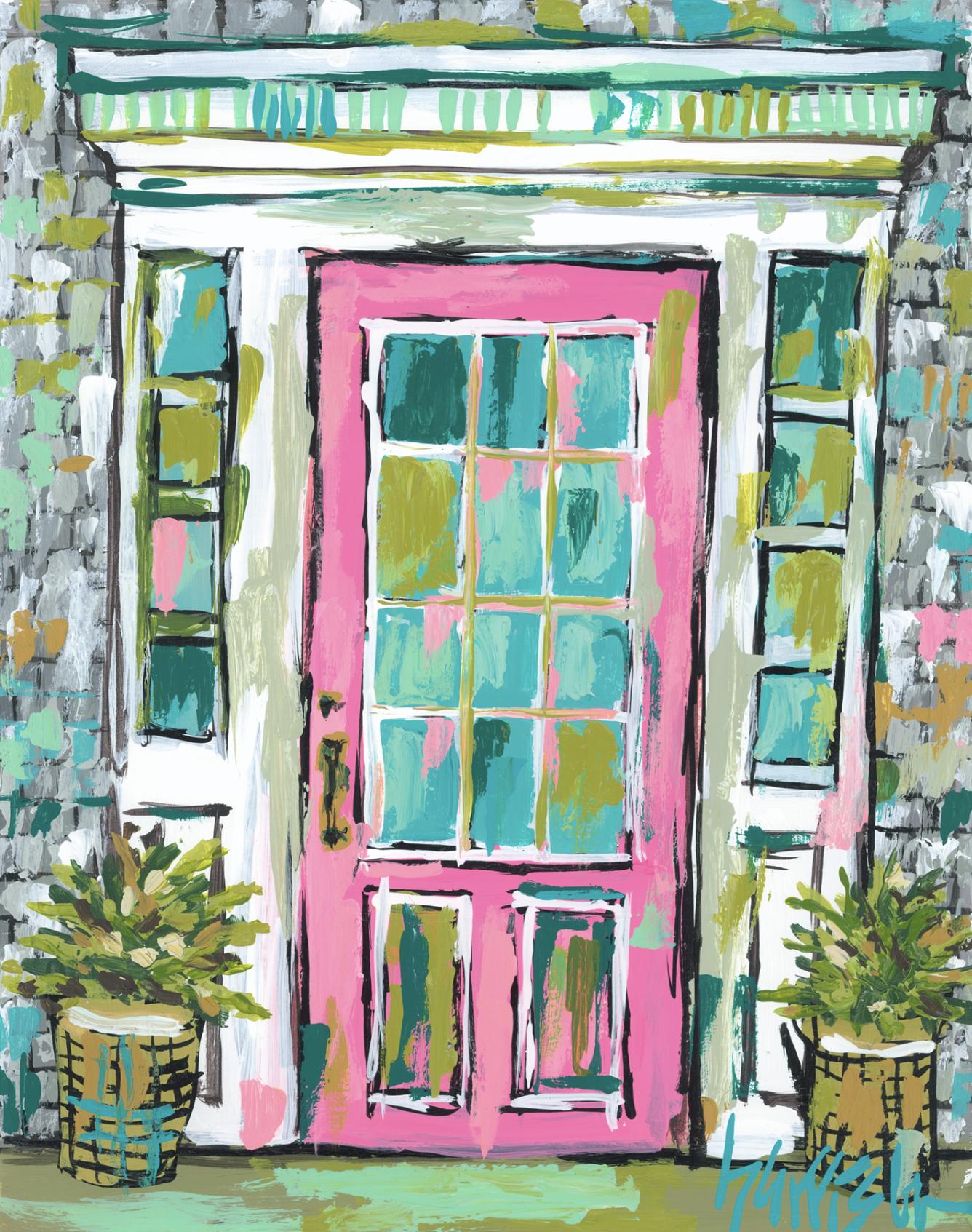Nantucket Door 3 Print