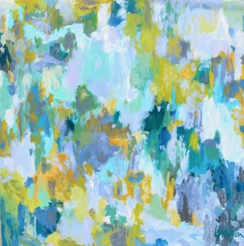 "Water Off the Bridge 48""w x 48""h"